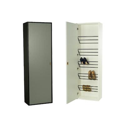 Taber Shoe Cabinet - Grey - Image 1