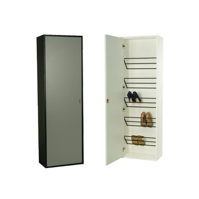 Taber Shoe Cabinet - Grey
