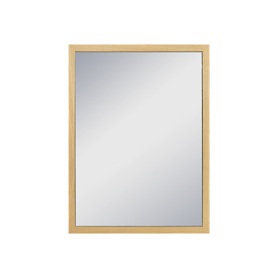 Hosta Half-Length Mirror 30 x 40 cm - Oak - Image 2