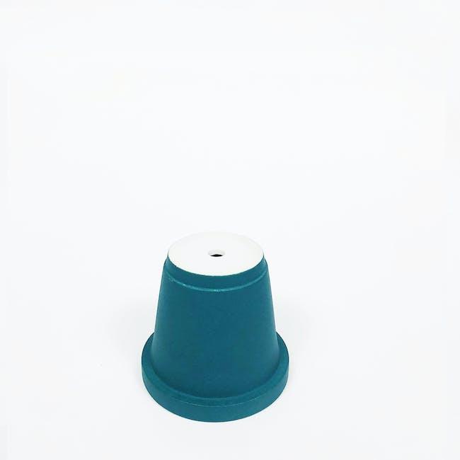 Matte Glaze Mini Plant Pot - Matte Black - 3