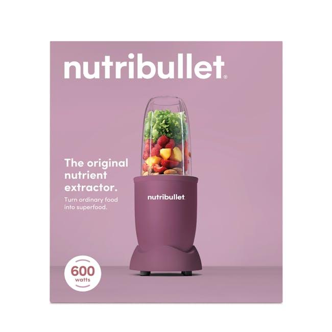 NutriBullet 600W Personal Blender - Matte Light Plum - 5