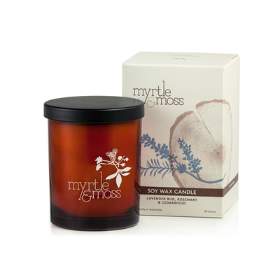 Lavender Soy Wax Candle - Image 2