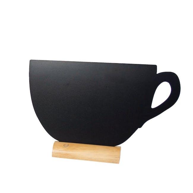 Securit Teacup-Shaped Table Chalkboard - 0