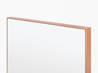 Zoey Standing Mirror 30 x 150 cm - Rose Gold - Image 2