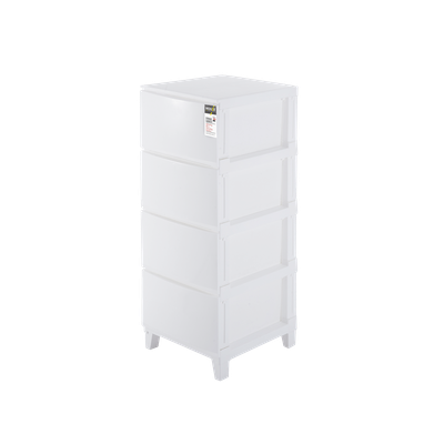 4-Tier 'Knock Down' Compact Cabinet - Image 1