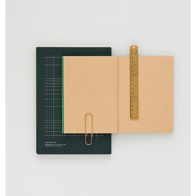 Geo Notebook - Plain Paper - Small - 1