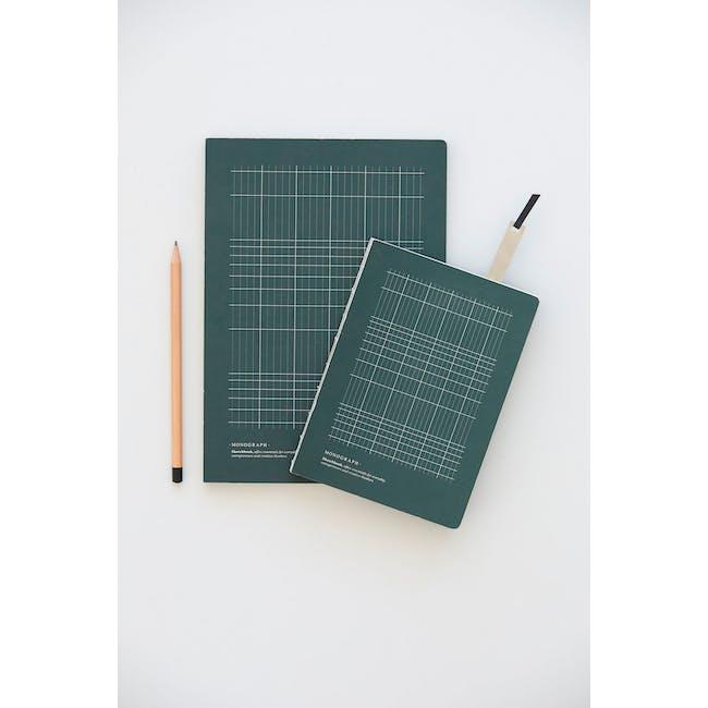Geo Notebook - Plain Paper - Small - 2