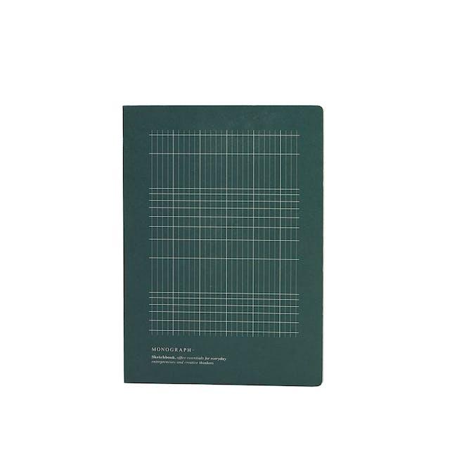 Geo Notebook - Plain Paper - Small - 0