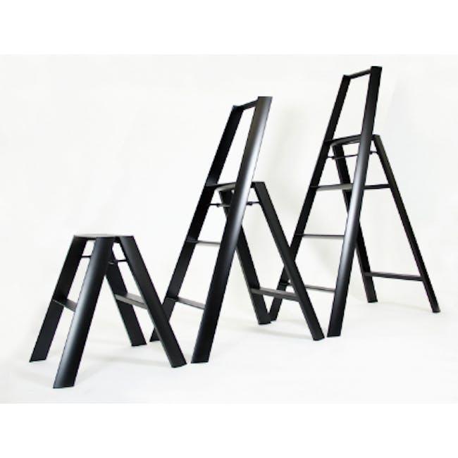 Hasegawa Lucano Aluminium 4 Step Ladder - Red - 2