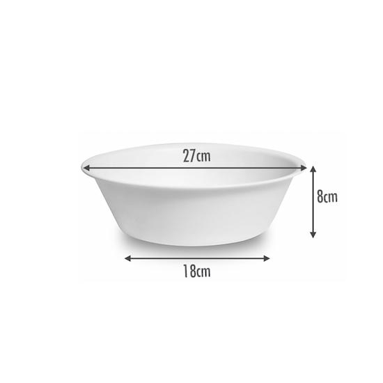 Houze - HOUZE Round Wash Basin - White