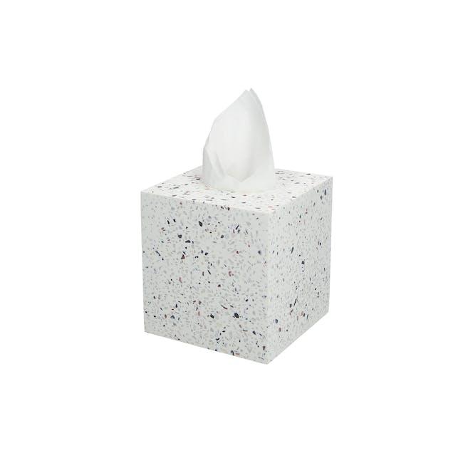JVD Terrazzo Tissue Box - 0
