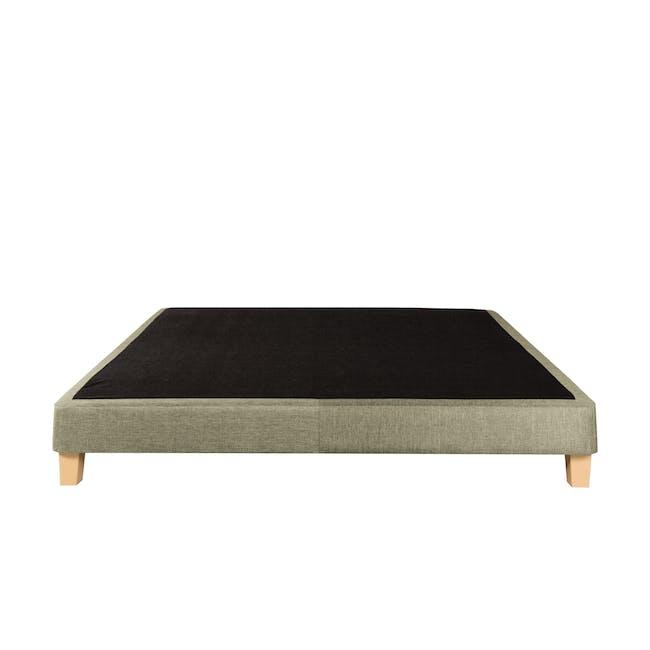 ESSENTIALS Queen Divan Bed - Khaki (Fabric) - 1