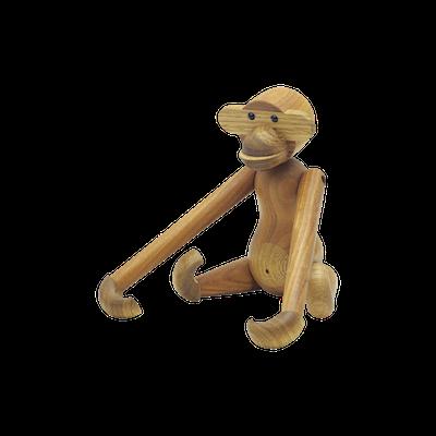 Paul the Monkey - Teak Wood Sculpture - Image 2