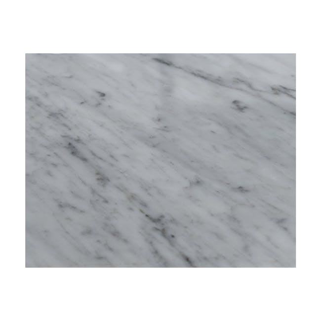 (As-is) Carson Marble Dining Table 2m - 14