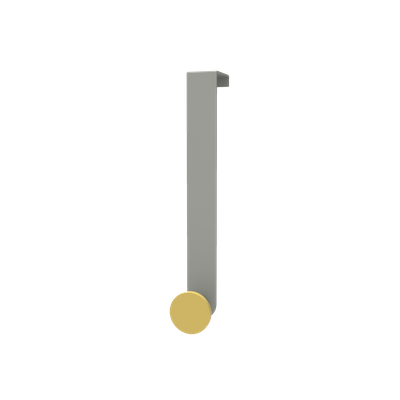 Over the Door Hooks Medium - Lemon - Image 1