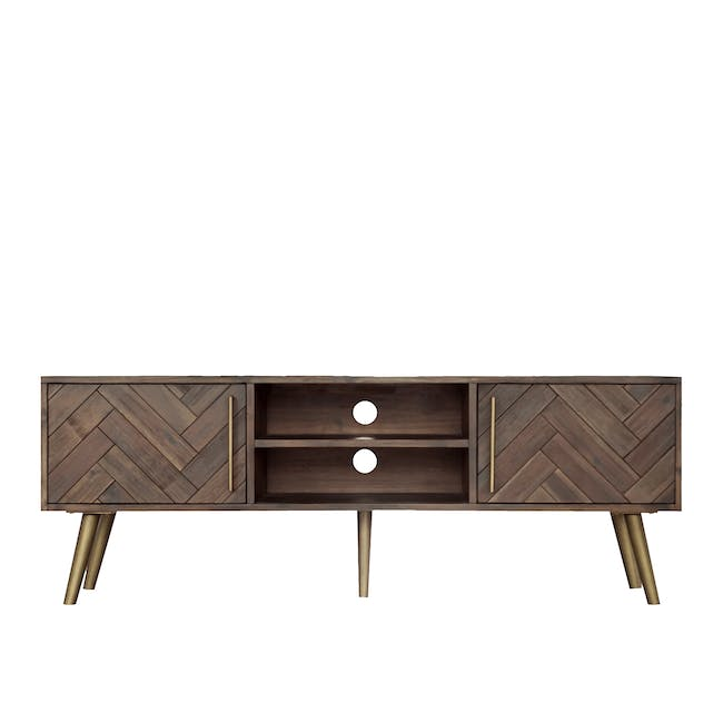 Cadencia TV Console 1.65m with Cadencia Twin Drawer Coffee Table - 3