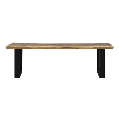 Frank Solid Suar Live Edge Dining Bench 1.7m - Image 1