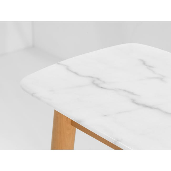 (As-is) Hagen Marble Console Table 1.2m - 1 - 10
