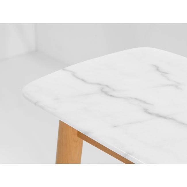 Hagen Marble Console Table 1.2m - 3