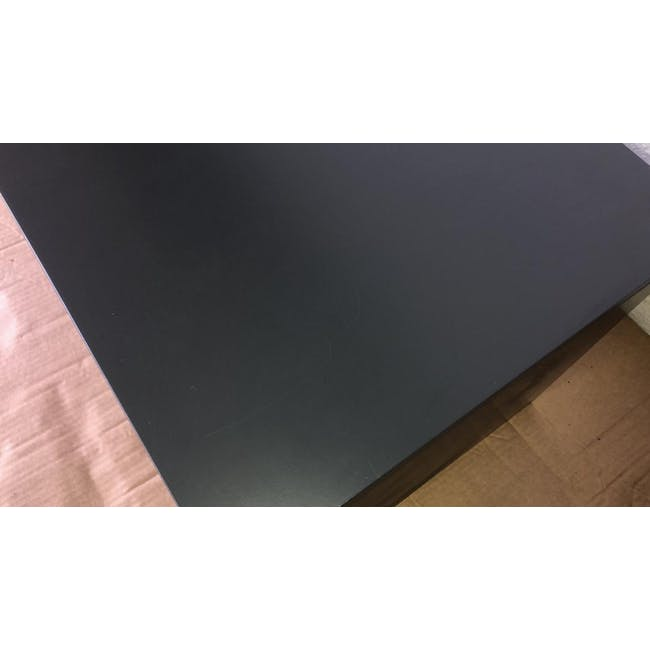 (As-is) Liam Media Rack 1.2m - Charcoal Grey - 5