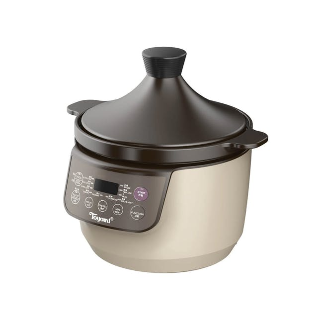 TOYOMI Micro-com High Heat Stew Cooker HH 9080 - Beige - 0