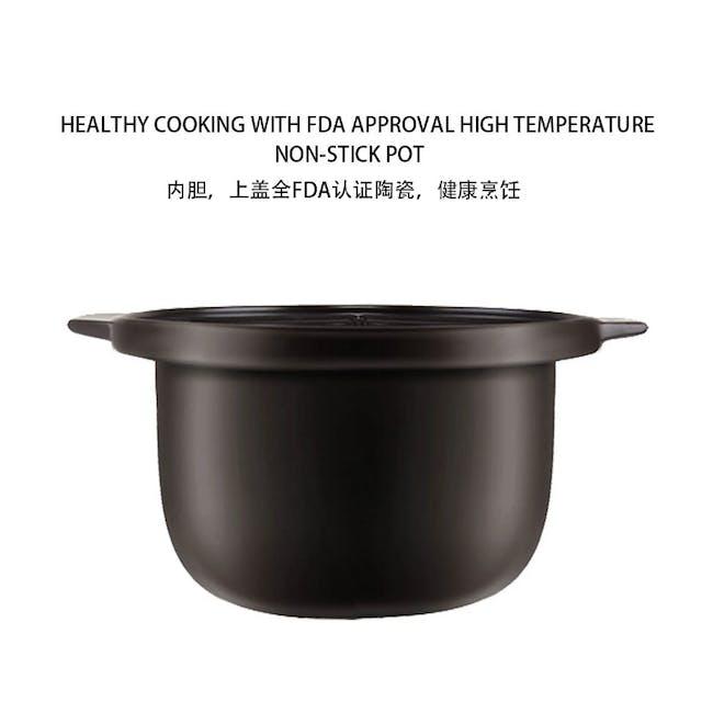 TOYOMI Micro-com High Heat Stew Cooker HH 9080 - Beige - 4