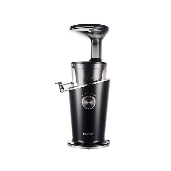 Hurom H100s Cold Pressed Slow Fruit Juicer Easy Series - Black Pearl - 0