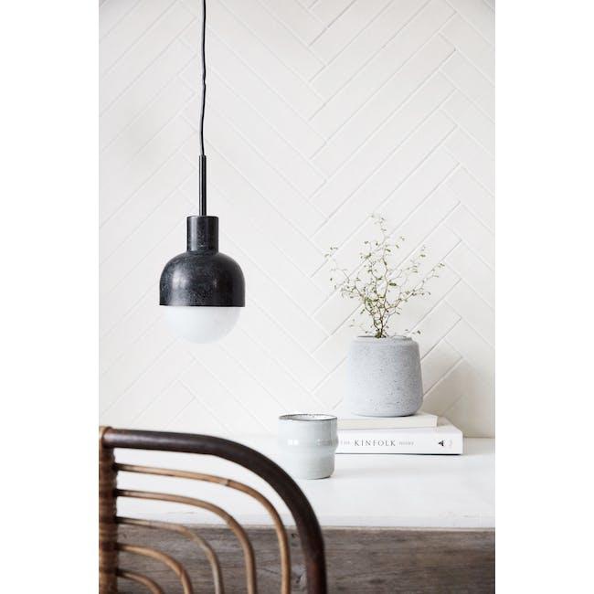 Badden Pendant Lamp - Oxidised Black - 1