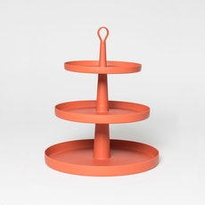 Tiers 3-Level Cake Stand -Paprika