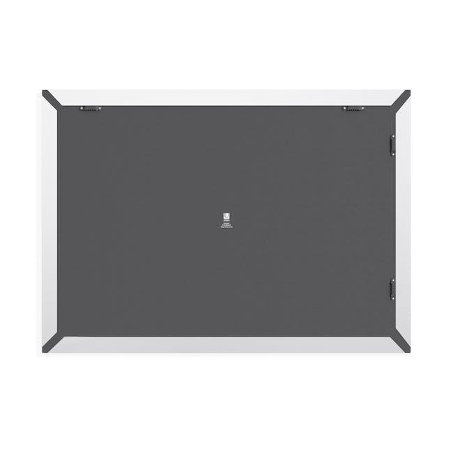 Trigon Metal Bulletin Board - White - 3