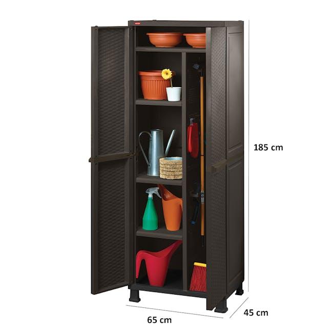 Rattan Multipurpose Cabinet with Legs - 2