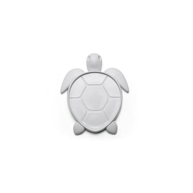 Save Turtle Coaster - Light Grey - 0