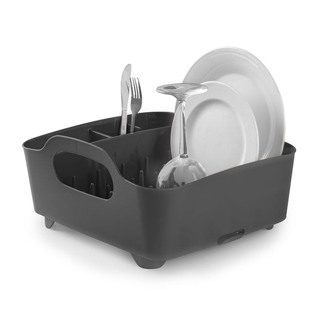 Tub Dish Rack - Smoke - 0