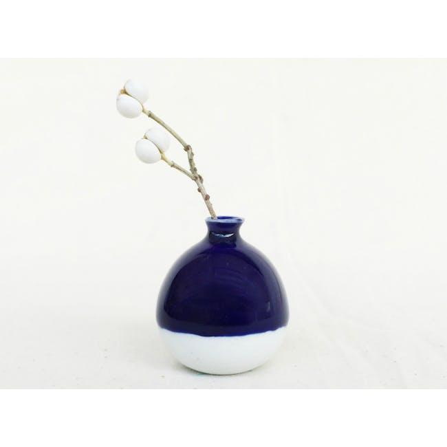 Mini Vase 5 cm - China Blue - 0