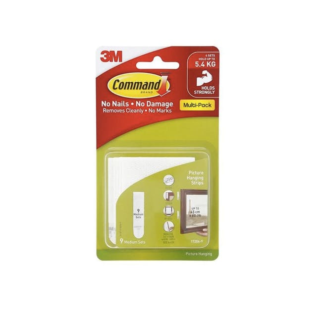 Command™ Picture Hanging Strips Value Packs - White (4 Options) - 0