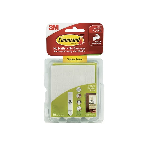 Command™ Picture Hanging Strips Value Packs - White (4 Options) - 1