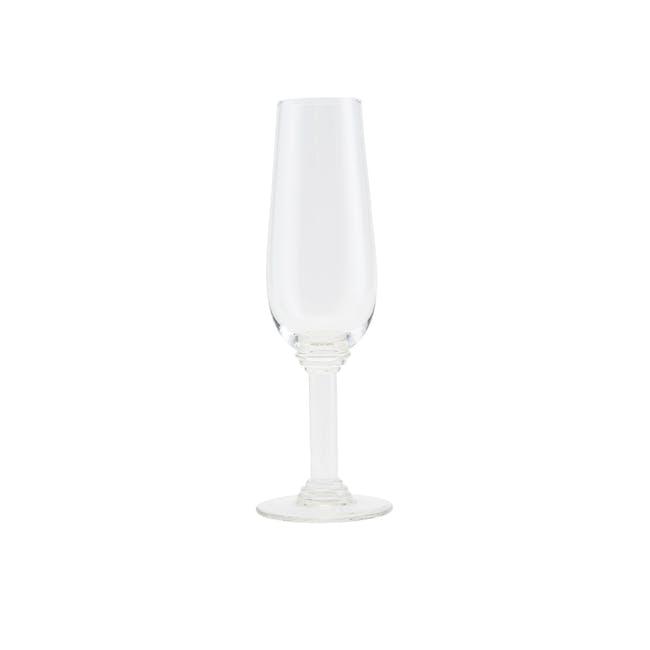 Nouveau Champagne Glass - Clear - 0