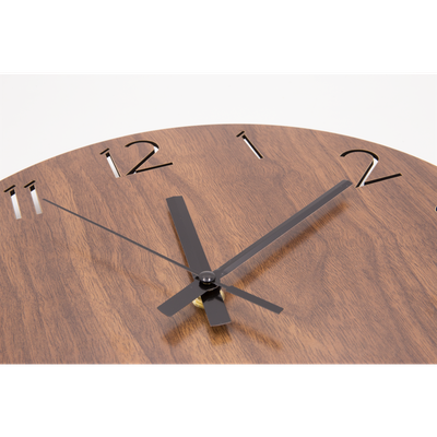 Hunter Wall Clock - Walnut - Image 2