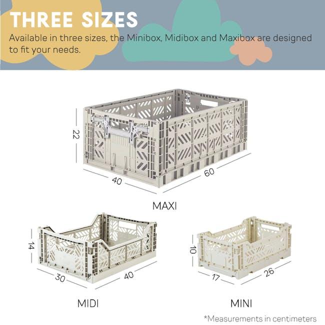 Aykasa Foldable Midibox - Grey - 7