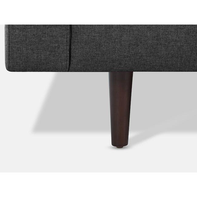 Nolan 3 Seater Sofa - Carbon (Fabric) - 6