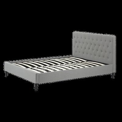 Lennon Headboard Bed - Grey- 4 sizes - Image 2