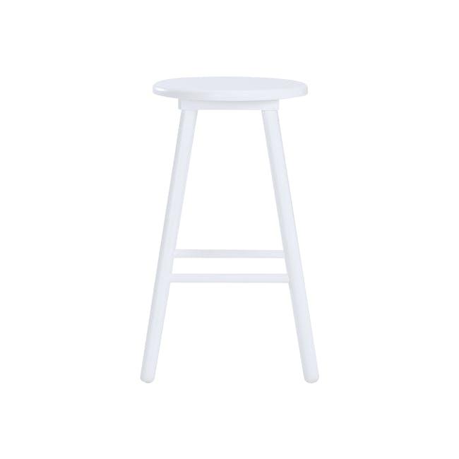 Olina Bar Stool - White - 1