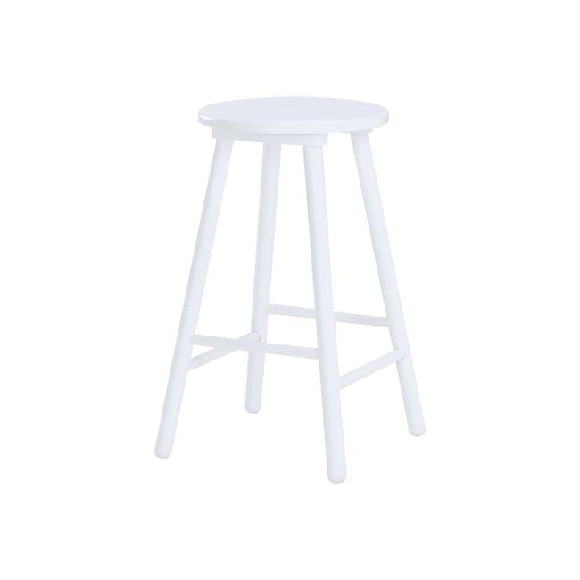 Olina Bar Stool - White - 0