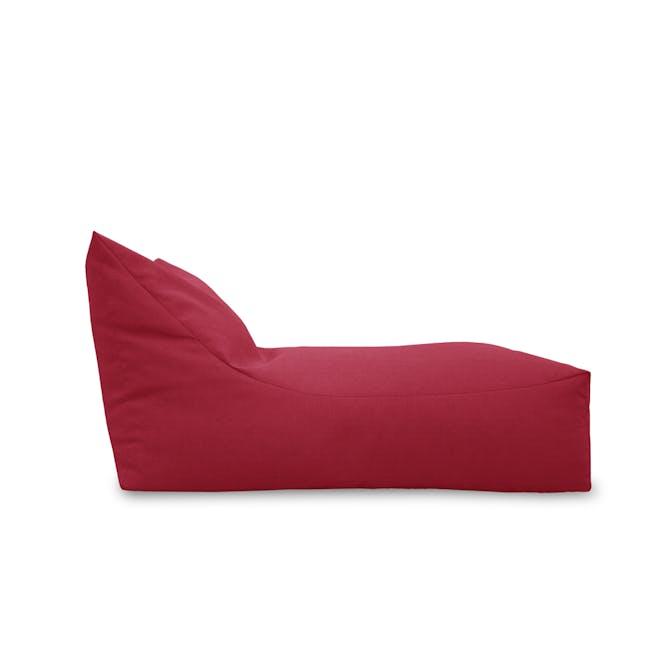Daisy Bean Bag - Red - 1