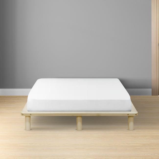 Hiro Queen Platform Bed - 1