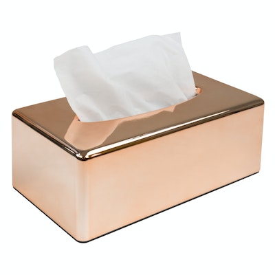 Copper Tissue Holder - Image 1