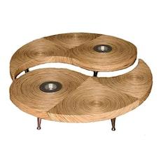 Yin-Yang 2 - Piece Coffee Table