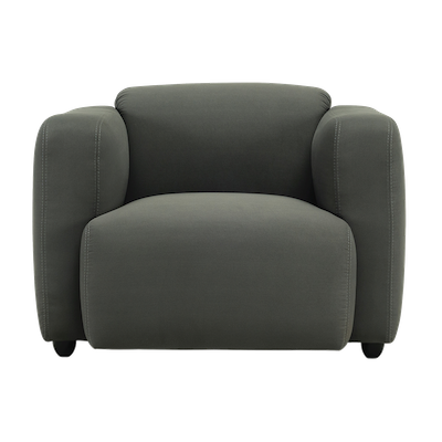 Polo 1 Seater Sofa - Paloma - Image 2