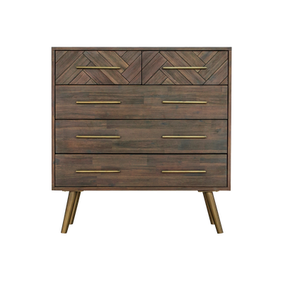 Cadencia 5 Drawer Chest 1m - Image 2