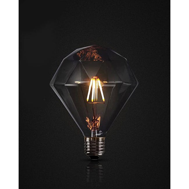 LED Diamond Edison Bulb - 2